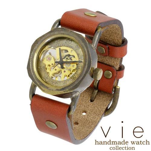 【ヴィー】vie 腕時計 ウォッチ レディース ハンドメイド handmade watch 手作り WB-003