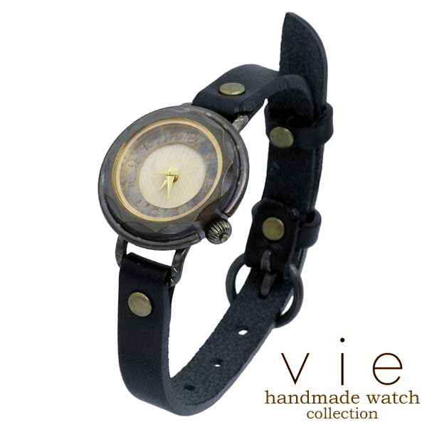 【ヴィー】vie 腕時計 ウォッチ レディース ハンドメイド handmade watch 手作り WB-006S