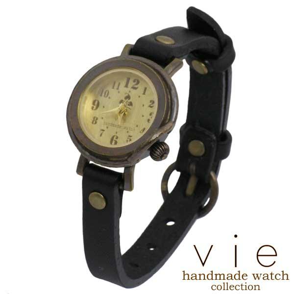 【ヴィー】vie 腕時計 ウォッチ レディース ハンドメイド handmade watch 手作り WB-013S