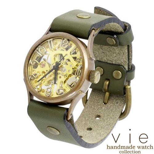 vie【ヴィー】腕時計 ウォッチ レディース ハンドメイド handmade watch 手作り WB-044