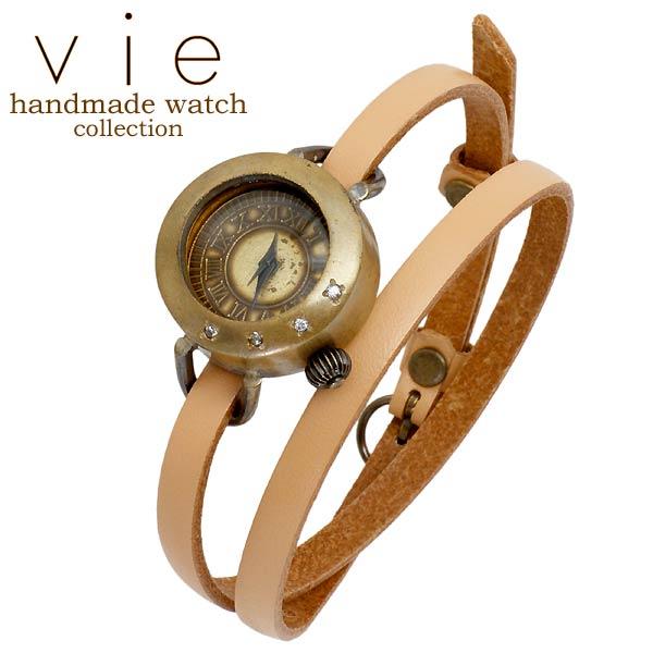 【ヴィー】vie 腕時計 ウォッチ レディース handmade watch 手作り ハンドメイド WB-071-WL-004