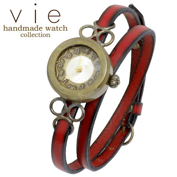 vie【ヴィー】腕時計 ウォッチ レディース handmade watch 手作り ハンドメイド WB-072-WL-004