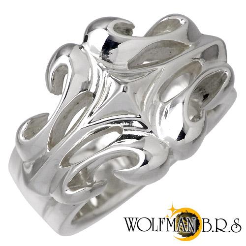 ウルフマンB.R.S WOLFMAN B.R.S リング 指輪 メンズ シルバー ジュエリー 925 スターリングシルバー WO-R-018