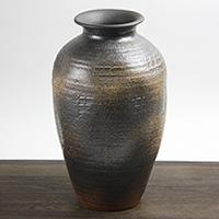 花瓶 おしゃれ 大きい 信楽焼 和風 つぼ 和 癒し 壷 つぼ 花器 フラワーベース 花入れ 一輪挿し しがらき 陶器 インテリア 焼き物 ha-0034