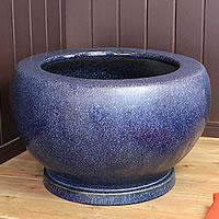 信楽焼 20号特大ナマコ火鉢 和風を演出する陶器火鉢です。陶器ひばち 手焙 手あぶり 信楽焼ひばち【hi-0025】