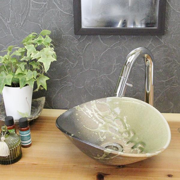 Shin Raku 古信fun Small Oval Hand Wash Bowls! Timeless Washbasin Bowl!
