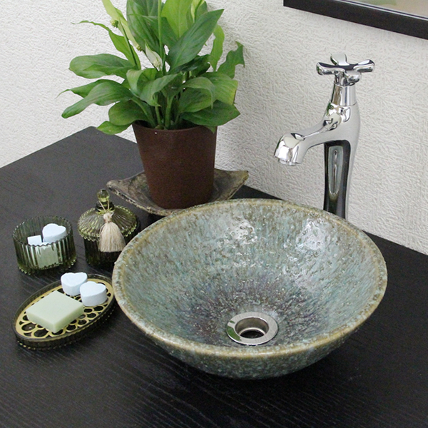 Shin Raku Green 古信 Fun Toilet Bowl! Timeless Washbasin Bowl! Stylish Basin  Instrument ...