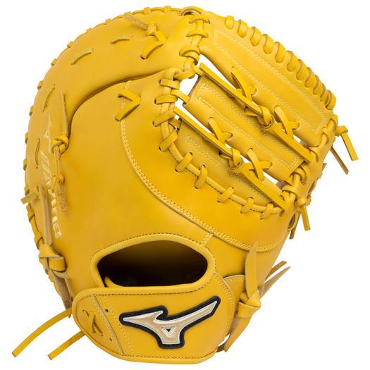 ミズノ ソフトボール用エレメントフュージョンUMiX捕手・一塁手兼用 ナチュラル Mizuno 1AJCS18420 47