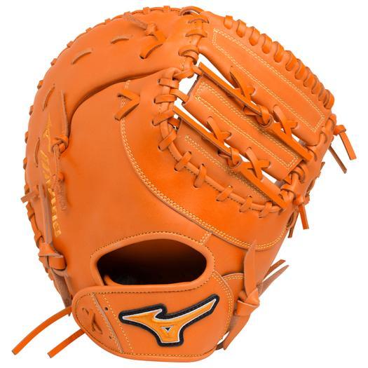 ミズノ ソフトボール用エレメントフュージョンUMiX捕手・一塁手兼用 クリアオレンジ Mizuno 1AJCS18420 51