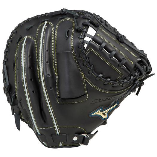 ミズノ 軟式用セレクトナイン捕手用/HG-3型 ブラック Mizuno 1AJCR16600 09 野球 グローブ 軟式