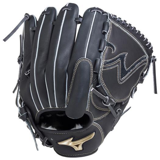 ミズノ 軟式用グローバルエリート Hselection01投手用/サイズ11 ブラック Mizuno 1AJGR18201 09 野球 グローブ 軟式