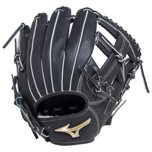 ミズノ 軟式用グローバルエリート Hselection01内野手用/サイズ8 ブラック Mizuno 1AJGR18203 09 野球 グローブ 軟式