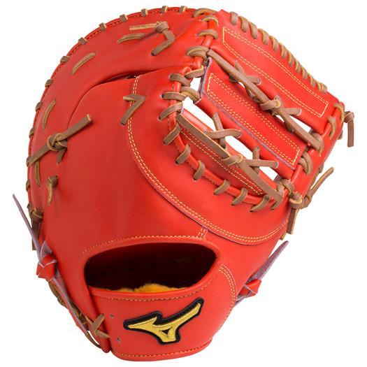 ミズノ 硬式用ミズノプロ スピードドライブテクノロジー一塁手用/新井型 スプレンディッドオレンジ Mizuno 1AJFH18200 52 野球 グローブ 硬式