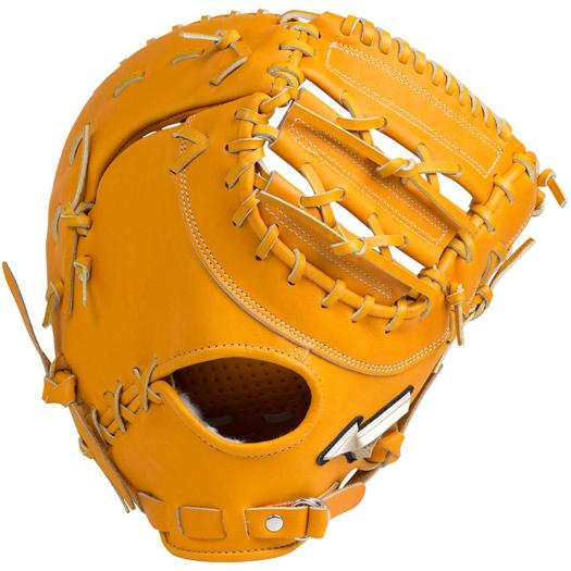 ミズノ 硬式用グローバルエリート Hselection02一塁手用/コネクトバック型 オレンジ Mizuno 1AJFH18310 54 野球 グローブ 硬式