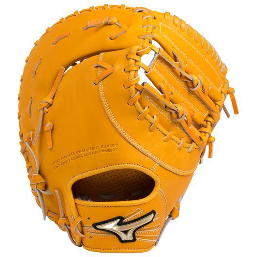 ミズノ 軟式用グローバルエリート Hselection02一塁手用/TK型 オレンジ Mizuno 1AJFR18300 54 野球 グローブ 軟式