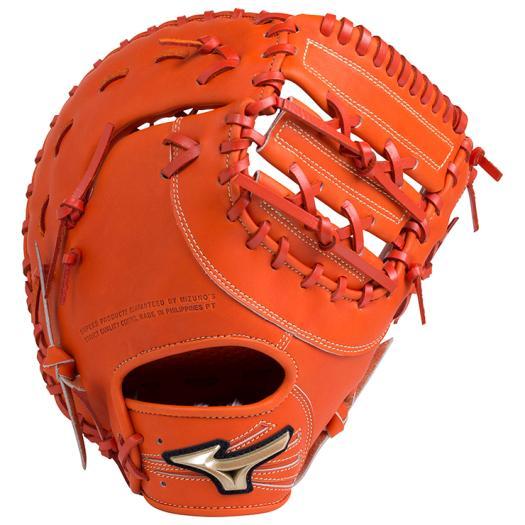ミズノ 少年軟式用グローバルエリート RG Hselection02一塁手用/TK型 スプレンディッドオレンジ Mizuno 1AJFY18300 52