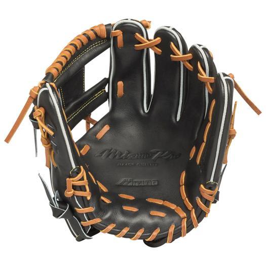 ミズノ 硬式用ミズノプロ スピードドライブテクノロジー内野手用4/6 ブラック Mizuno 1AJGH14203 09 野球 グローブ 硬式