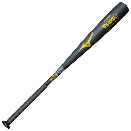 ミズノ 中学硬式用グローバルエリート Vコング07(金属製/83cm/平均750g以上) BUブラック Mizuno 1CJMH60883 10 野球 バット 硬式