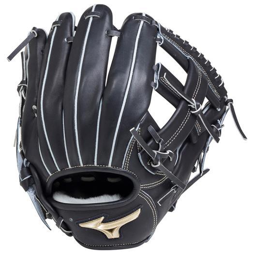 ミズノ 硬式用グローバルエリート Hselection01内野手用/サイズ8 ブラック Mizuno 1AJGH18203 09 野球 グローブ 硬式