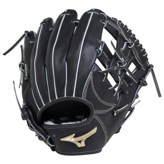 ミズノ 硬式用グローバルエリート Hselection01内野手用/サイズ9 ブラック Mizuno 1AJGH18213 09 野球 グローブ 硬式