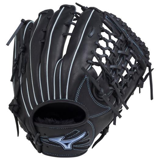 ミズノ 軟式用ダイアモンドアビリティクロス高山型/サイズ14 ブラック Mizuno 1AJGR18607 09 野球 グローブ 軟式