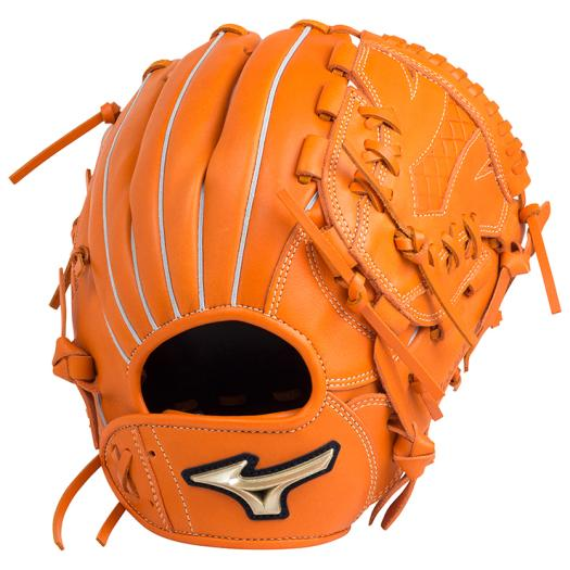 ミズノ 少年軟式用グローバルエリート RG UMiXU3(投手×内野×外野)/Mサイズ クリアオレンジ Mizuno 1AJGY18410 51 野球 グローブ 軟式