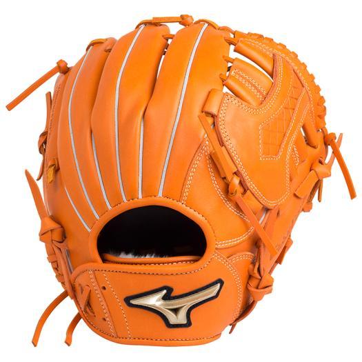 ミズノ 少年軟式用グローバルエリート RG UMiXU1(投手×内野)/Mサイズ クリアオレンジ Mizuno 1AJGY18420 51 野球 グローブ 軟式