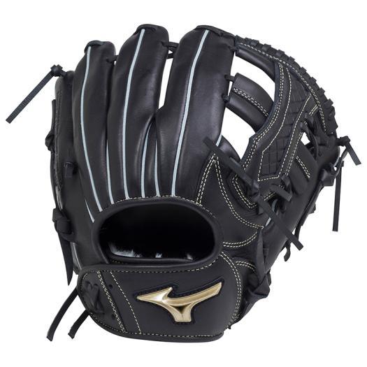 ミズノ 少年軟式用グローバルエリート RG UMiXU4(内野×外野)/Lサイズ ブラック Mizuno 1AJGY18440 09 野球 グローブ 軟式