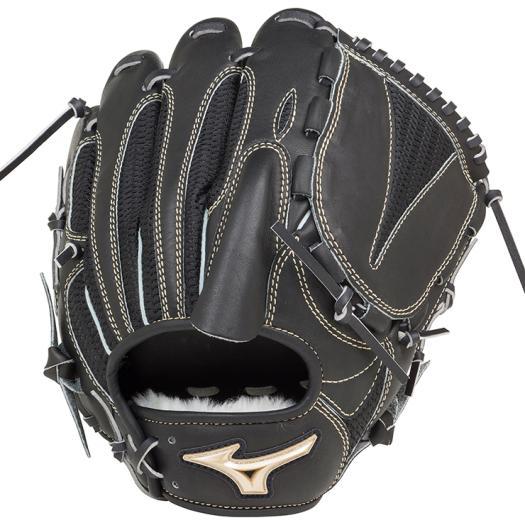 ミズノ 軟式用グローバルエリート 異彩 ハイブリッド投手用 ブラック Mizuno 1AJGR16201 09 野球 グローブ 軟式
