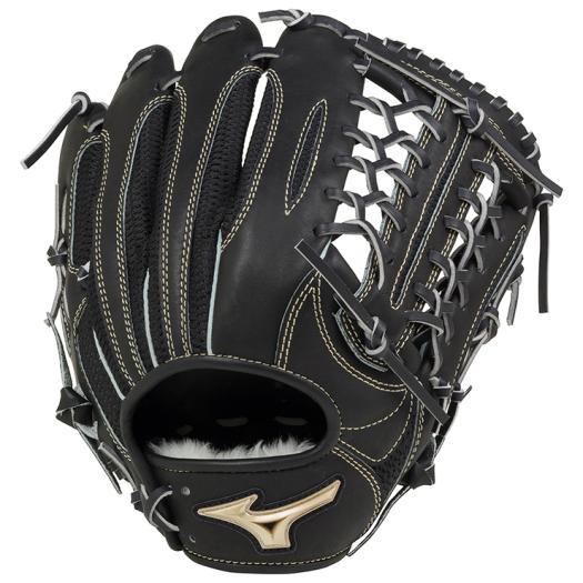 ミズノ 軟式用グローバルエリート 異彩 ハイブリッド外野手用 ブラック Mizuno 1AJGR16207 09 野球 グローブ 軟式
