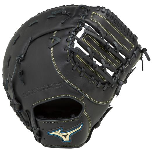 ミズノ 軟式用セレクトナイン一塁手用/TK型 ブラック Mizuno 1AJFR16600 09