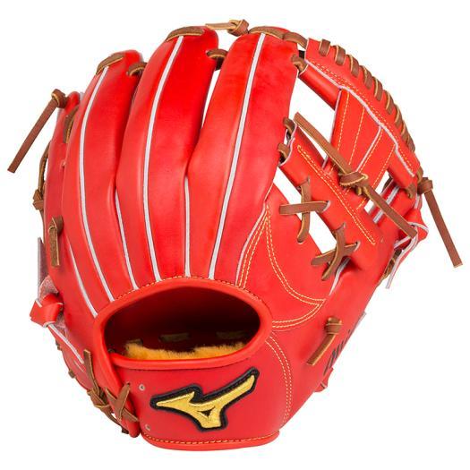ミズノ 硬式用ミズノプロ スピードドライブテクノロジー内野手用4/6 スプレンディッドオレンジ Mizuno 1AJGH14203 52 野球 グローブ 硬式