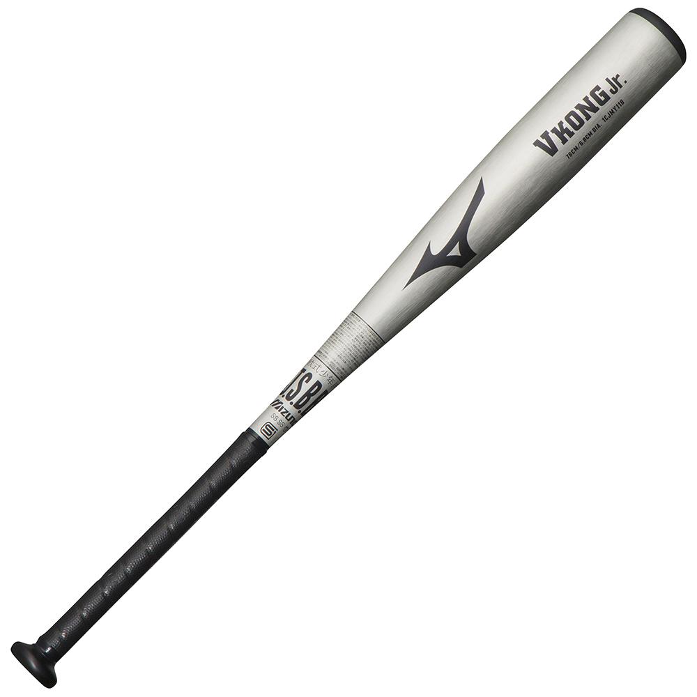 ミズノ 少年軟式用金属製 VコングJr. ジュニア シルバー Mizuno 1CJMY11876 03 野球 バット 軟式