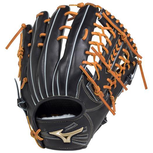 ミズノ 硬式用グローバルエリート Hselection02外野手用/サイズ16N ブラック Mizuno 1AJGH18307 09 野球 グローブ 硬式