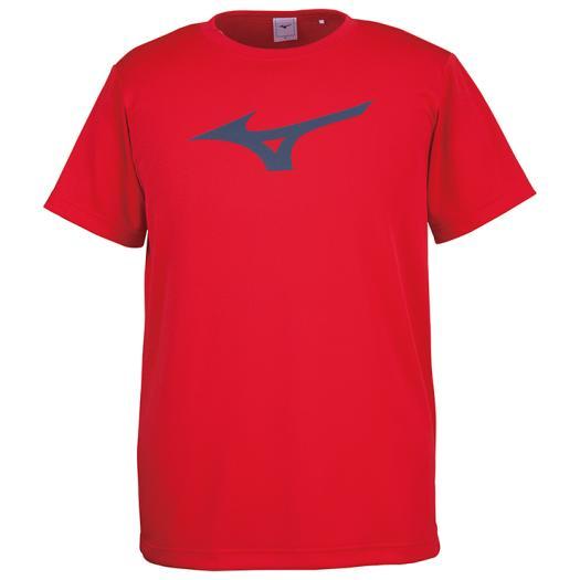 ミズノ Tシャツ チャイニーズレッド×ネイビー 32JA8155 62 新作からSALEアイテム等お得な商品 満載 Mizuno 買い物
