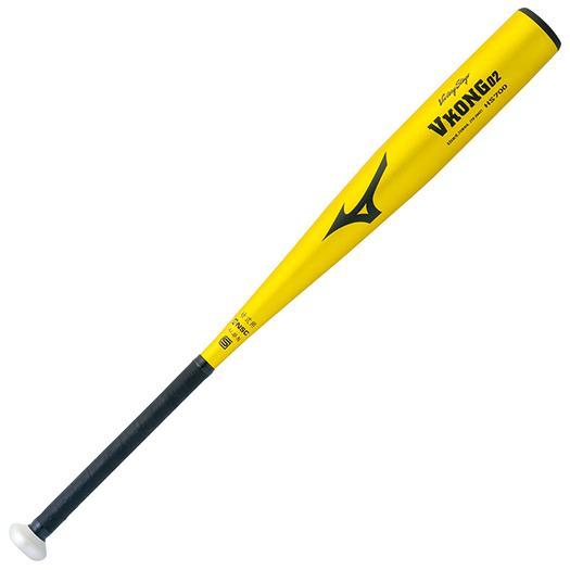 ミズノ 硬式用<ビクトリーステージ>Vコング02(金属製/80cm/900g以上) ゴールド Mizuno 2TH20401 50N 野球 バット 硬式