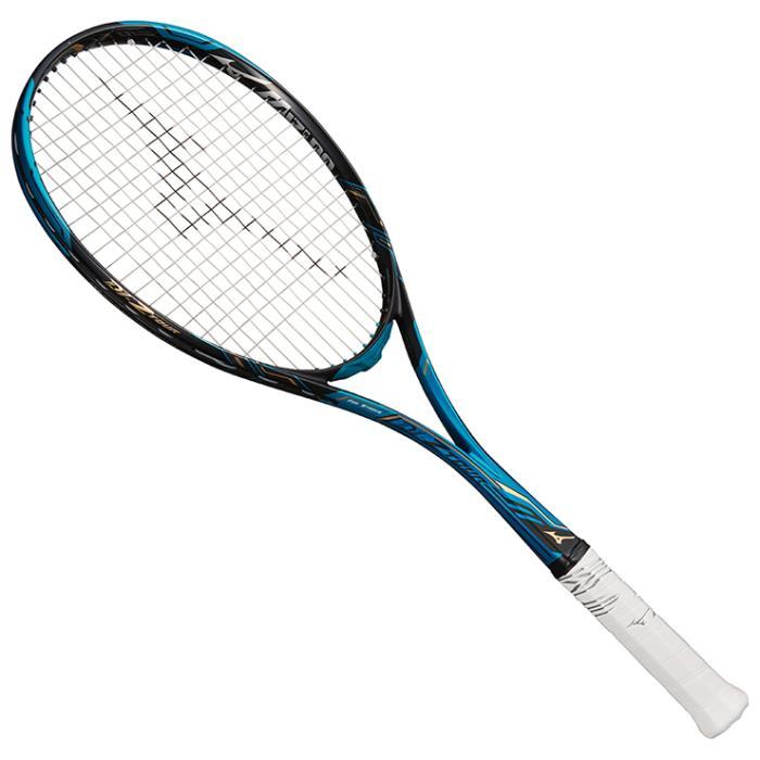 【在庫処分】ミズノ ソフトテニスラケット ディーアイ Zツアー ソリッドアクア×ブラック Mizuno 63JTN842 20