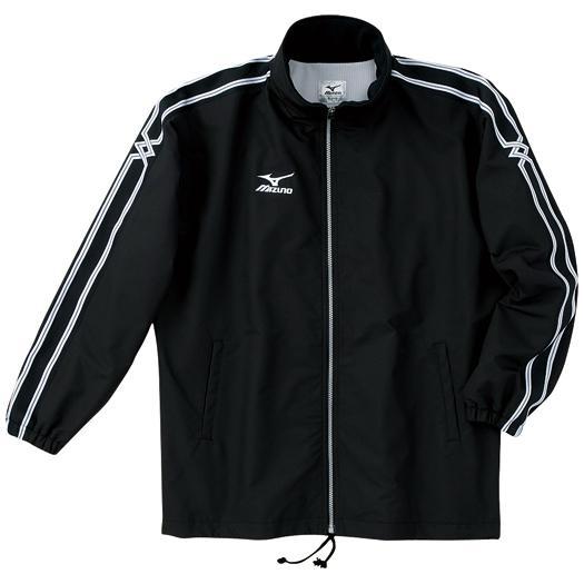 【在庫処分】ミズノ ウォーマーシャツ(フード収納式) ブラック Mizuno A60JF960 09