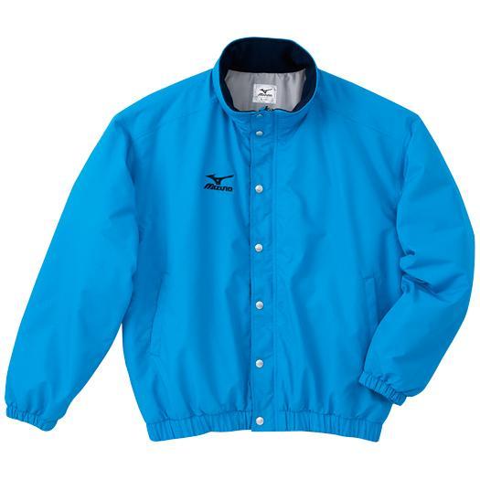 ミズノ 中綿ウォーマーキルトシャツ(フード収納式) サックス Mizuno A60JF962 19
