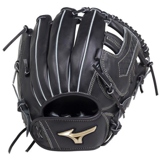 ミズノ 軟式用グローバルエリート UMiXU1(投手×内野)/サイズ10 ブラック Mizuno 1AJGR18400 09 野球 グローブ 軟式