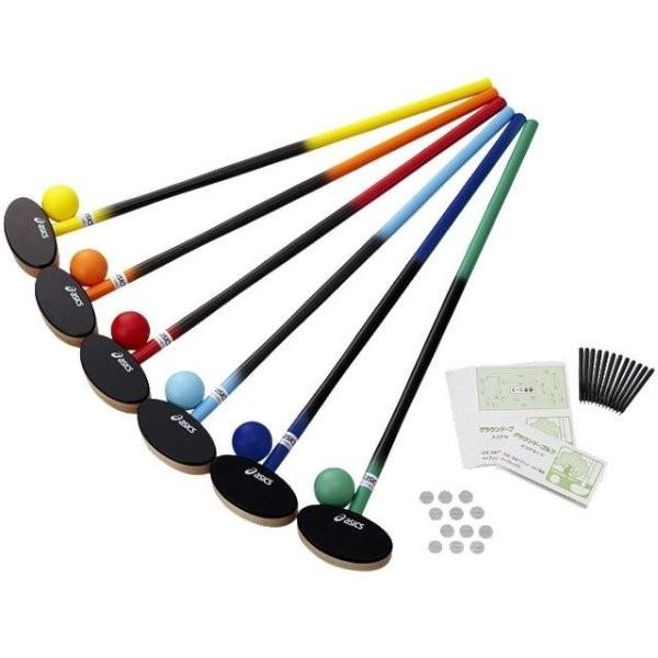 アシックス クラブ アシックス・樹脂ボール6色セット asics asics GGG113 F F, アームズギア:1d1d230b --- data.gd.no