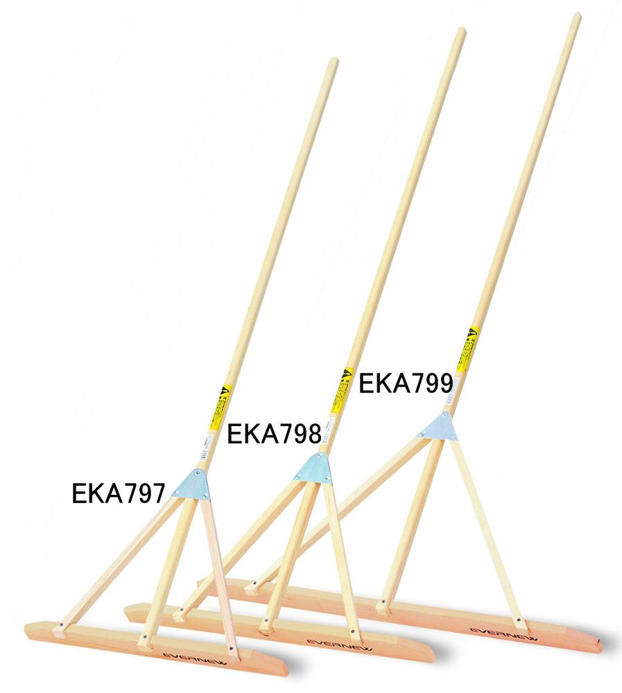エバニュー グランドレーキひのき 60 5本組 EVERNEW EKA797