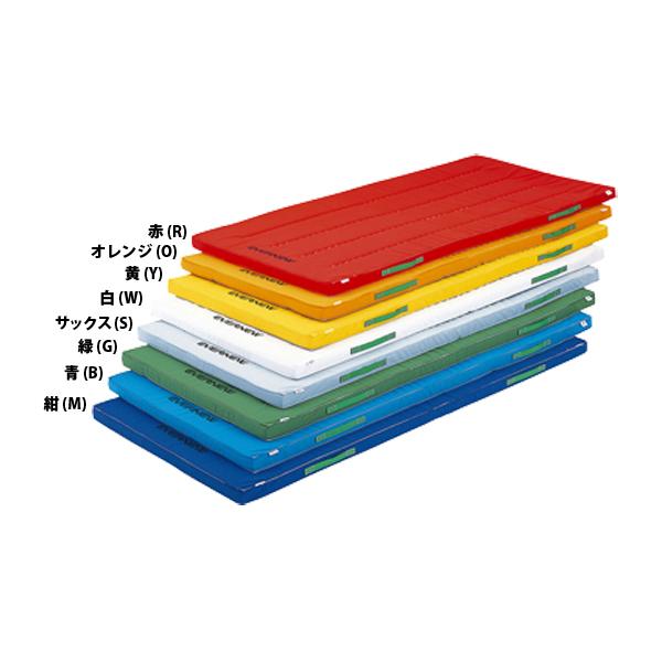 エバニュー 防ダニカラーペットマットすべり止め付 120×240 ブルー EVERNEW EKM082 B