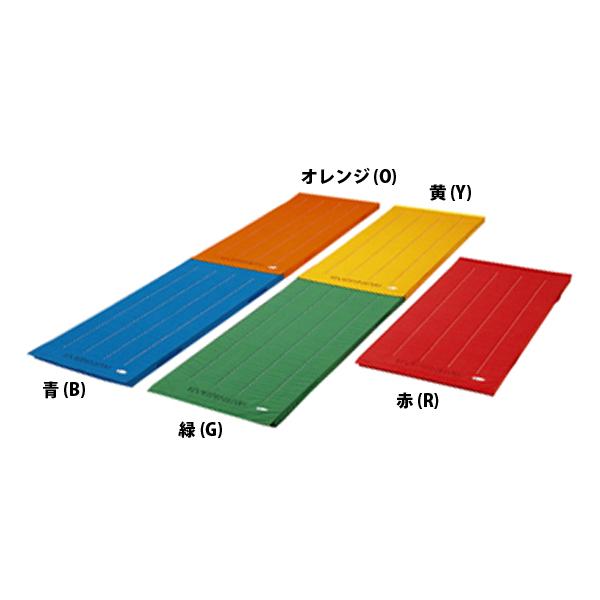【送料無料】エバニュー エコカラーマットジョイント式すべり止め付 60×120 オレンジ EVERNEW EKM060 O