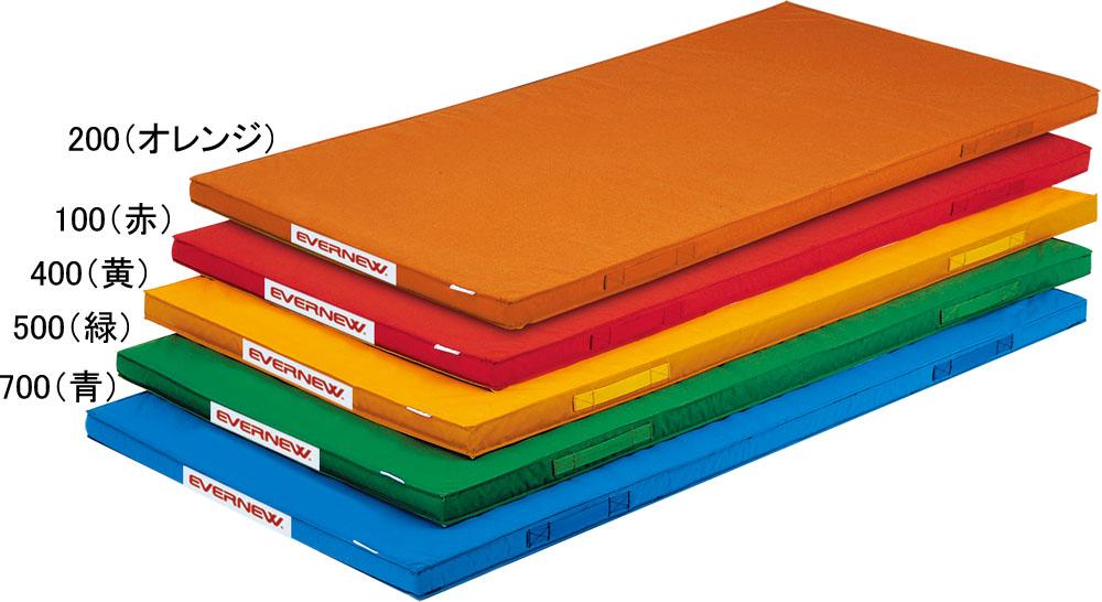 エバニュー 軽量カラーマット 120×240 オレンジ EVERNEW EKM079 200