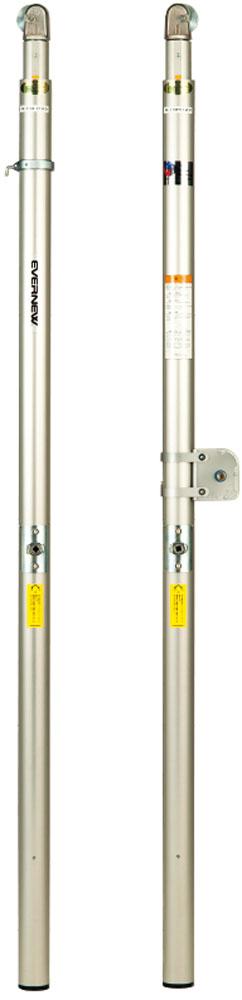 エバニュー バレー支柱 アルミ S2 授業向け 埋込30cm EVERNEW EKD753 1