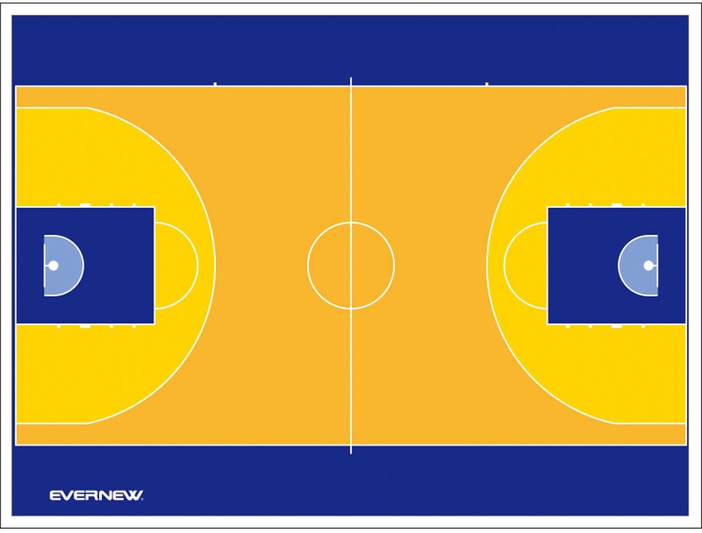 エバニュー カラー作戦板 スタンド付 バスケットボール EVERNEW EKD922 2