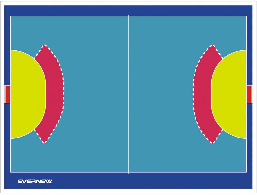【送料無料】エバニュー カラー作戦板 スタンド付 ゴールドッチ EVERNEW EKD922 7