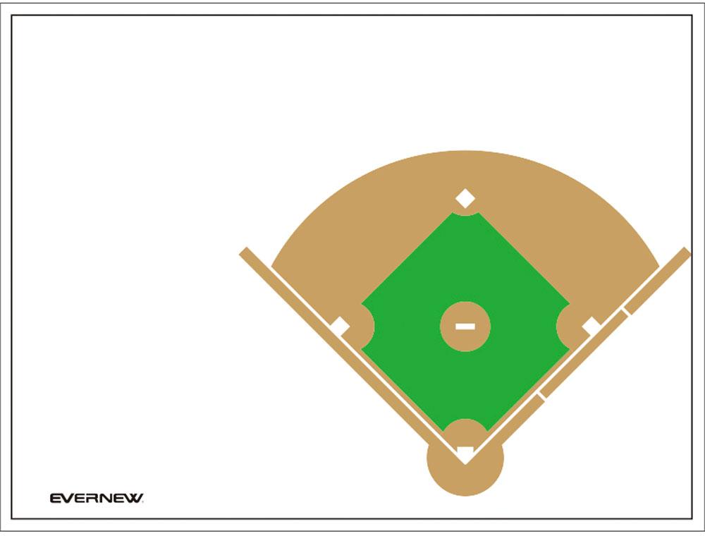 エバニュー カラー作戦板 スタンド付 野球 EVERNEW EKD922 8