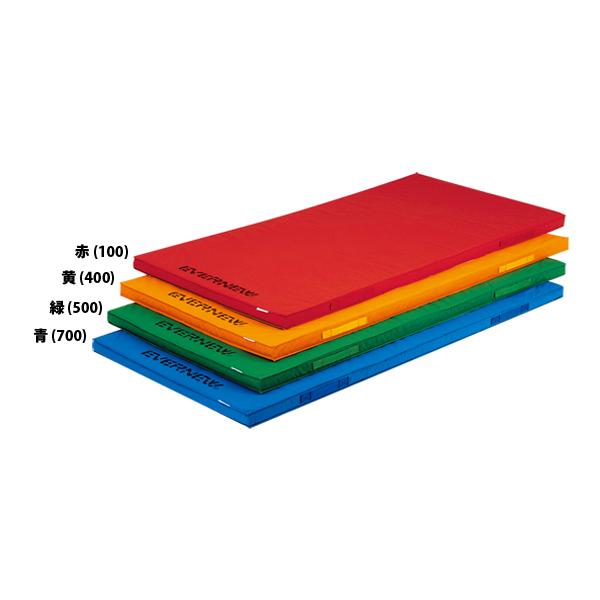 エバニュー 軽量カラーマット 120×240 レッド EVERNEW EKM079 100